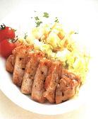 豚肉とキャベツのソテー丼