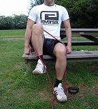 大腿部の外側(座位)
