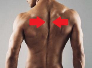 デッドリフト フィニッシュ 肩甲骨